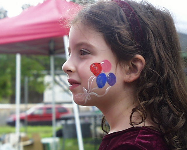 Face painting atlanta entertainment event planning for Face painting clowns for birthday parties